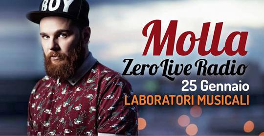 ZeroLiveRadio 2017 Puntata 1 MOLLA