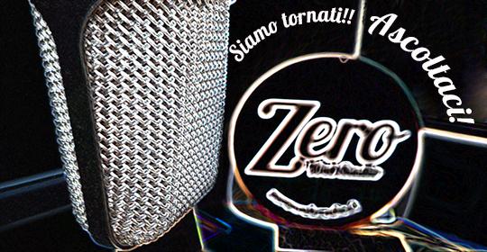 Ripartono le trasmissioni di Zero Web Radio!